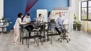 Santé travail bureaux réglables